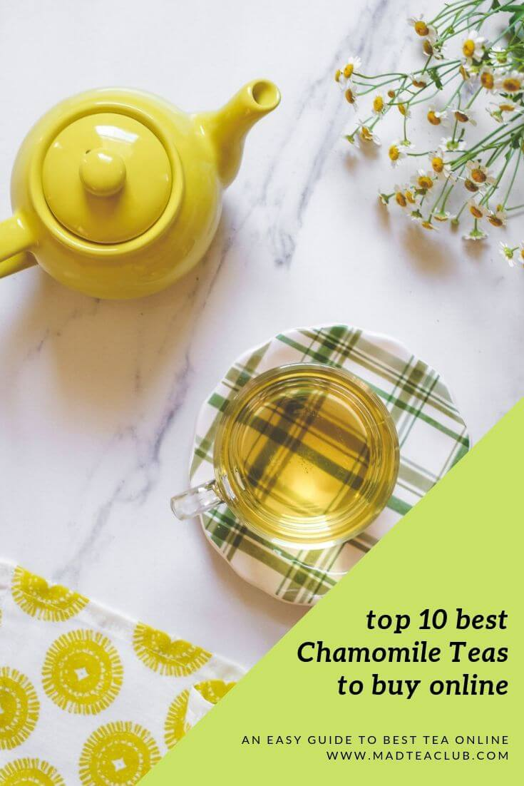 top 10 best chamomile teas to buy online pinterest design