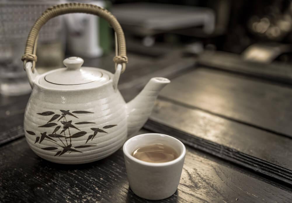 Chinese white tea