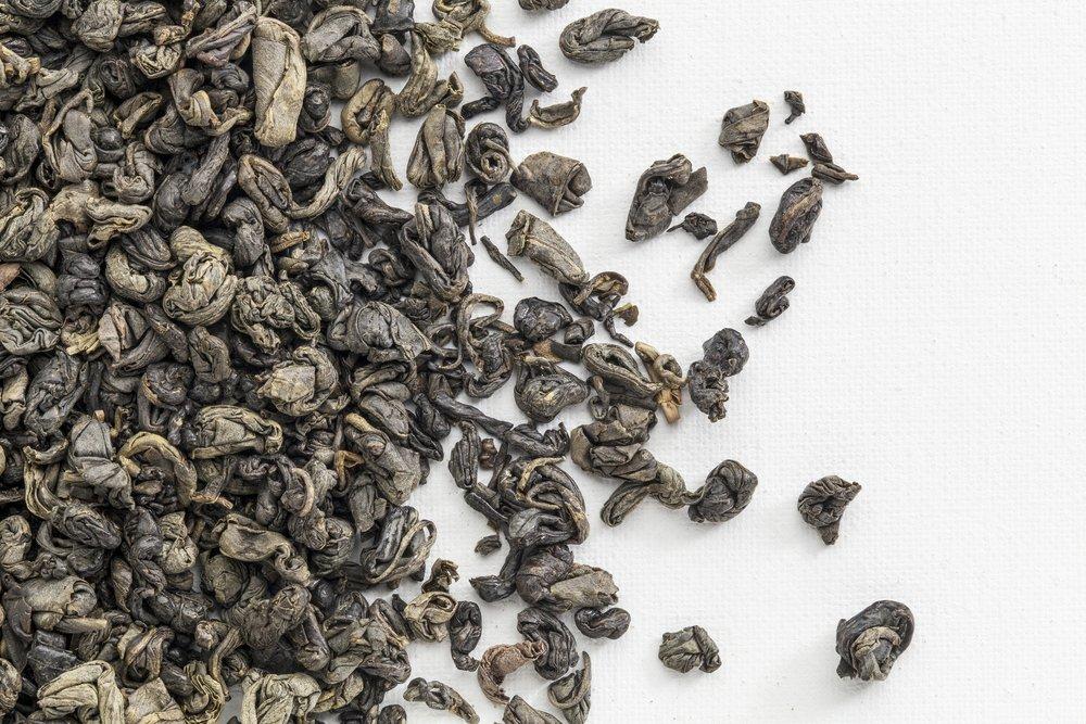 gunpowder tea zhu cha