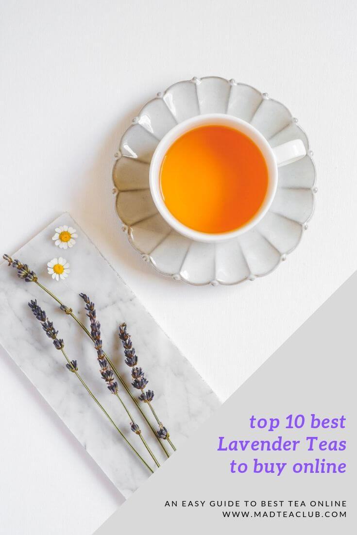 top 10 best lavender teas to buy online, pinterest design