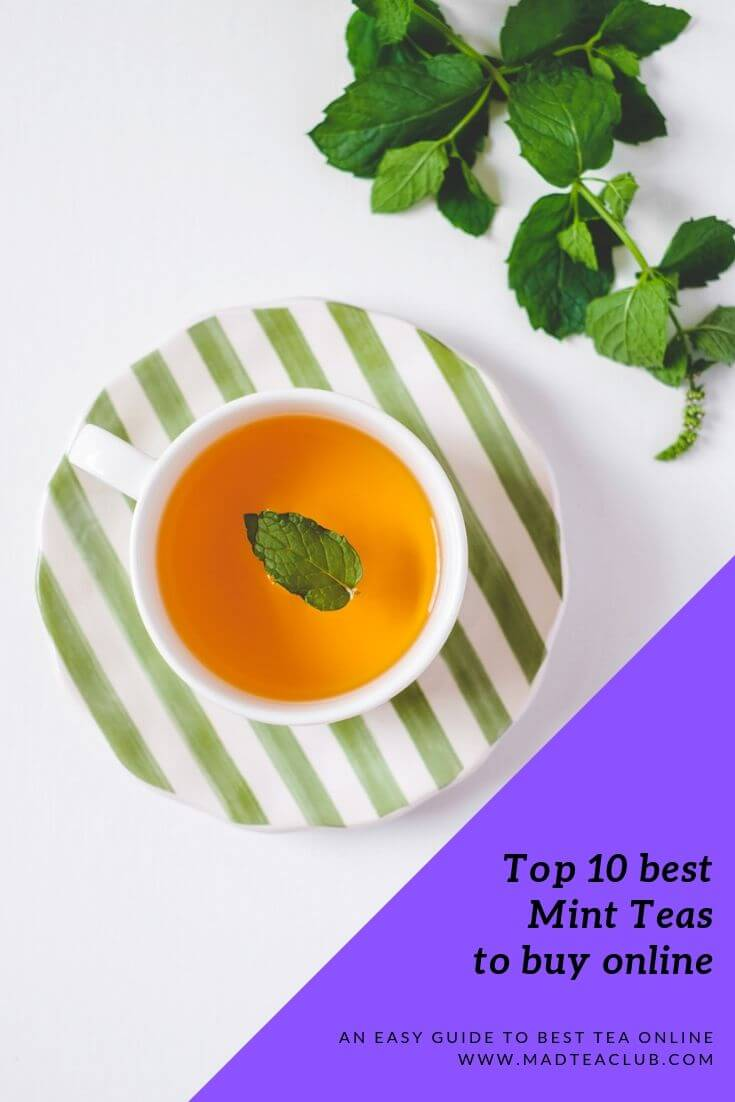 Best mint teas to buy online, Pinterest design