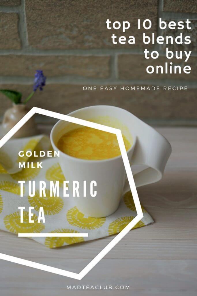 Turmeric Tea Golden Milk
