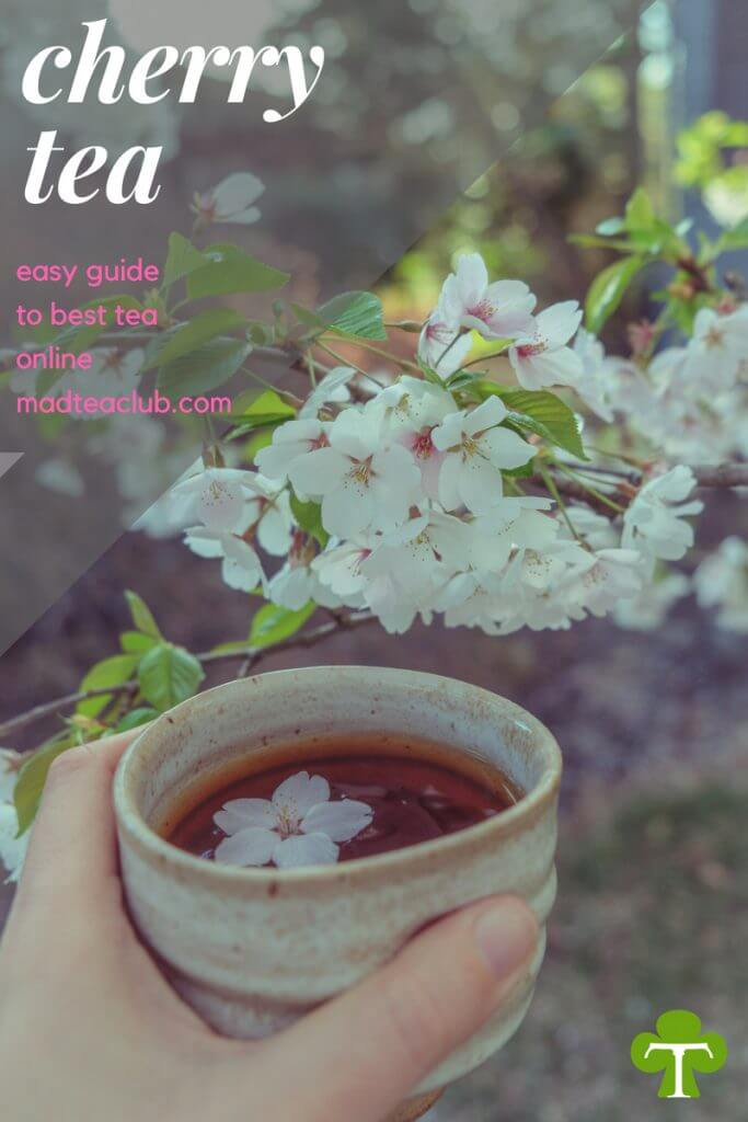 Cherry Tea Pin