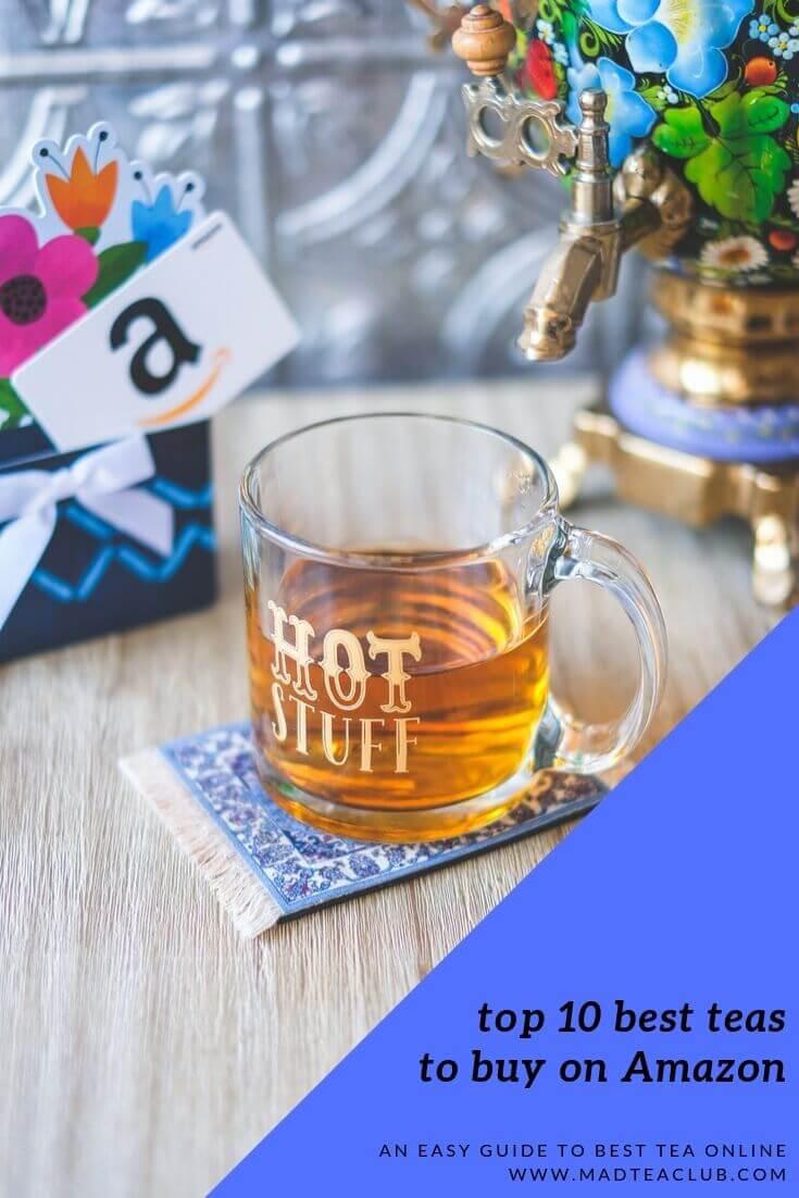 10 best teas to buy on amazon Pinterest design